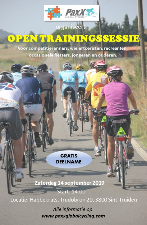 Open trainingssessie